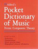 Alfred, Pocket Dictionary of Music, musical terms