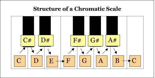 Chromatic Scale Structure