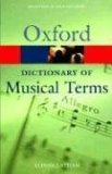 oxford dictionary, musical terms, singing books