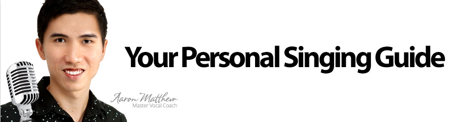 Your Personal Singing Guide Banner